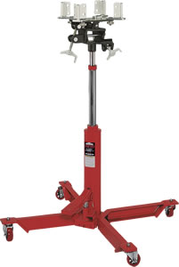 Norco 1/2 Ton Capacity Telescopic Under Hoist Single Pump Transmission Jack - 72500E - Empire Lube Equipment