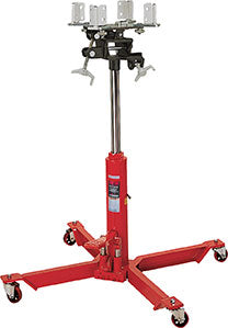 Norco 1/2 Ton Capacity Telescopic Under Hoist Double Pump Transmission Jack - FASTJACK - 72550B - Empire Lube Equipment