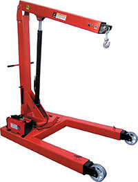 Norco 3 Ton Capacity Air / Hydraulic Floor Crane - 78600B - Empire Lube Equipment