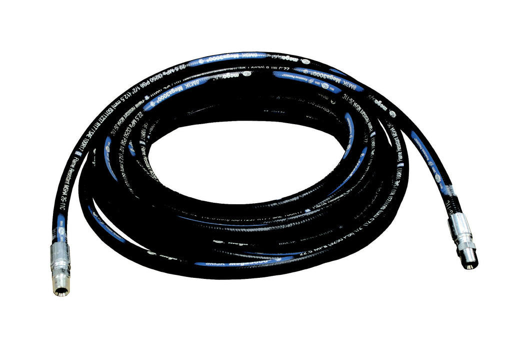 1/2 x 30, 3250 psi, 1/2 x 1/2 NPTF(M), Hose Assembly