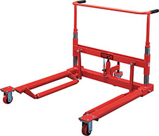 Norco 1 Ton Capacity Wheel Dolly-Rigid Front Wheels - 82300D - Empire Lube Equipment