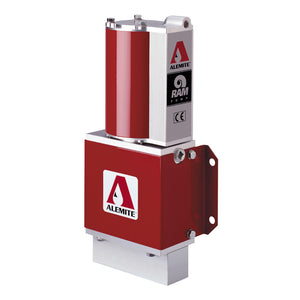 Alemite Stationary Pneumatic RAM Oil Pumps
