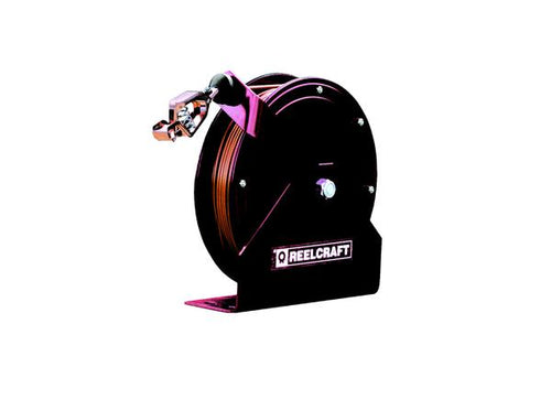 REELCRAFT L 70100 123 3A 12 AWG / 3 Cond  x 100ft, 20 AMP, Single Outlet Cord Reel, With Cord