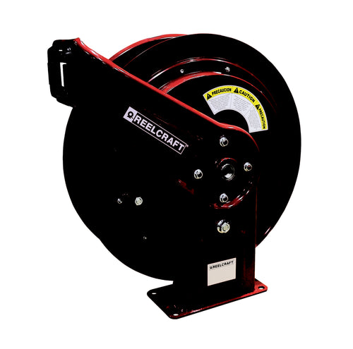 REELCRAFT HD74005 OHP 1/4 x 75ft, 5000 psi, Grease Hose Reel without Hose