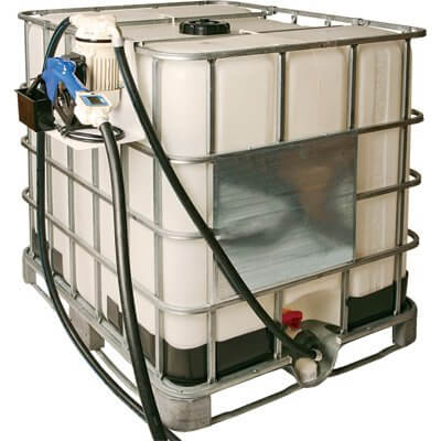LiquiDynamics 970020-12A DEF IBC Tote System - Electric, Bottom-Feed, Stainless Steel Nozzle, Model freeshipping - Empire Lube Equipment