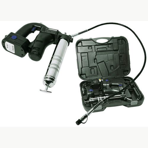 Liquidynamics 18 VDC Battery Operated Grease Gun P/N 500177, Oil pump, grease pump, empire lube repair, pneumatic pump, transfer pump