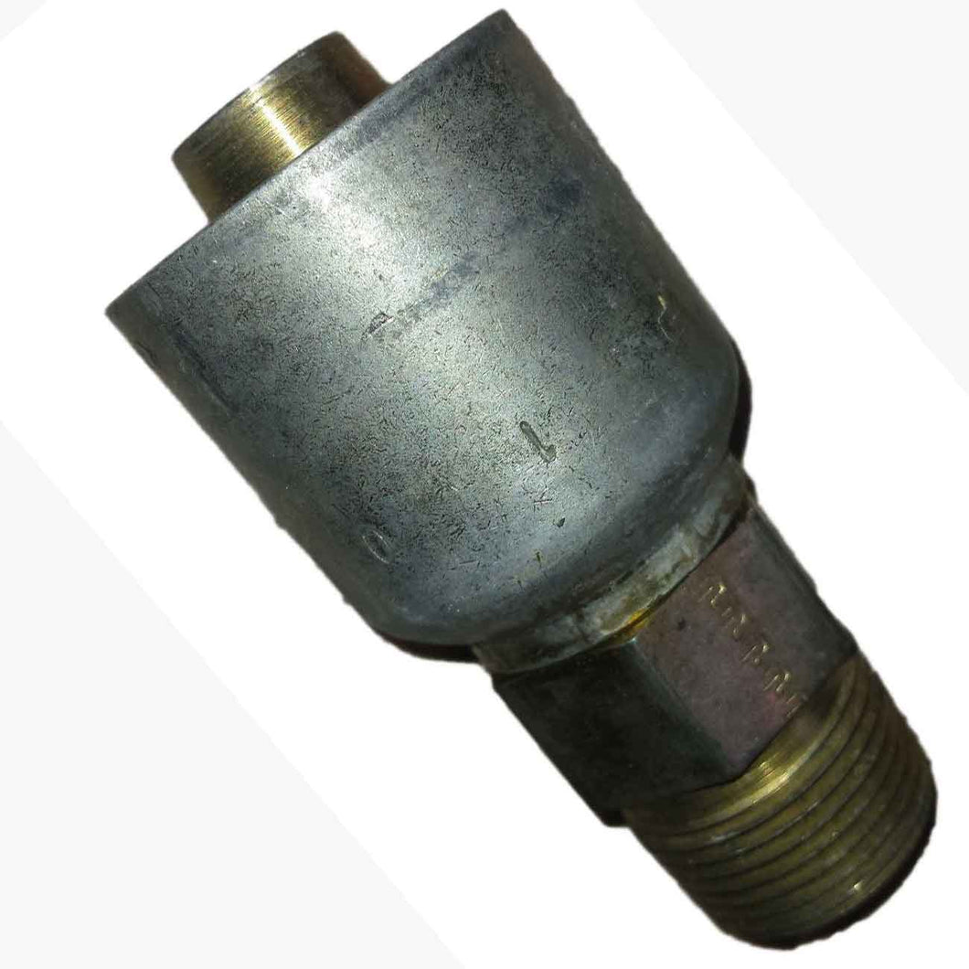 Parker 10143-12-12 Male Pipe Adapter 3/4 NPT X 3/4 Hose Steel freeshipping - Empire Lube Equipment