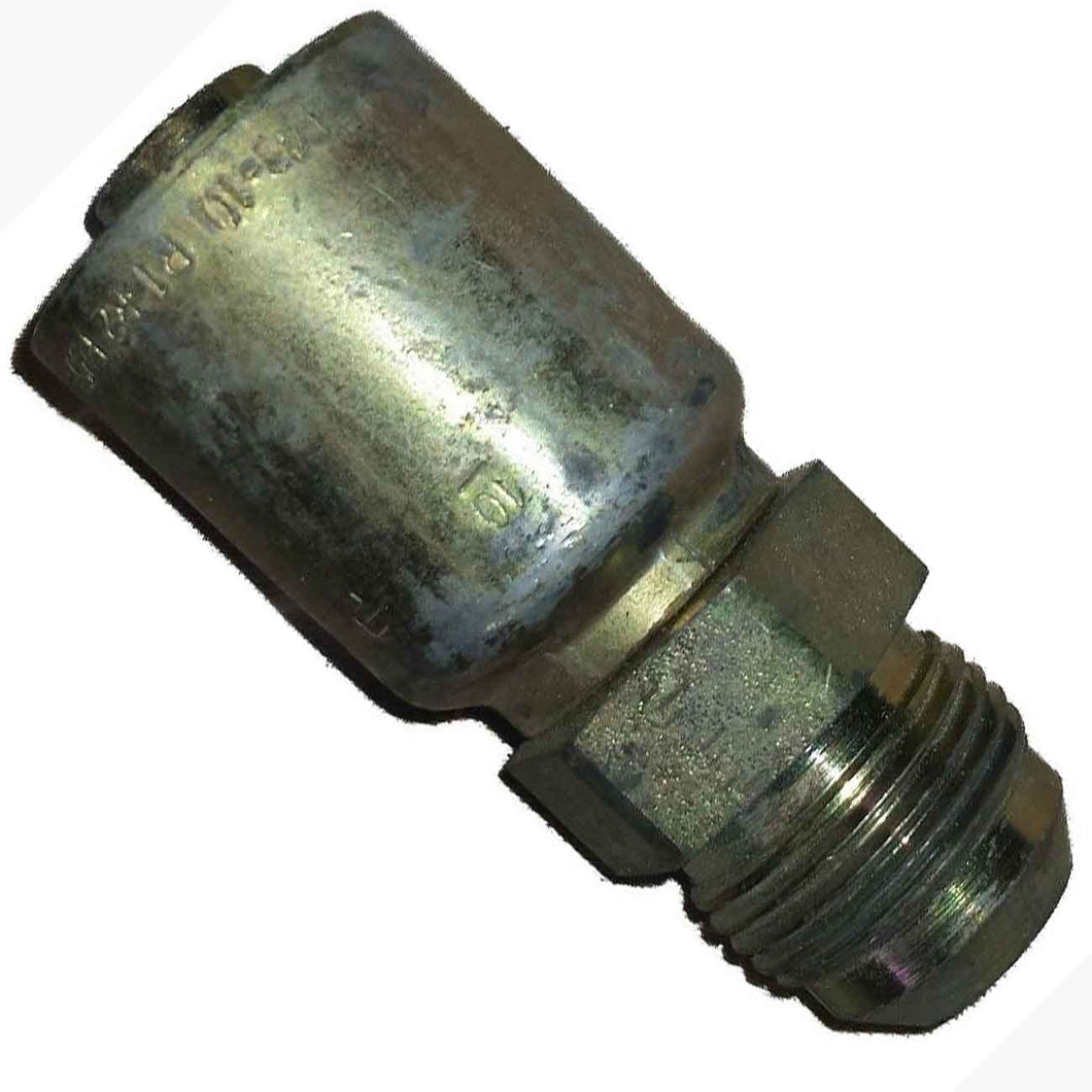 Parker 10343-12-10 Male Adapter 3/4 JIC X 5/8 Hose Steel freeshipping - Empire Lube Equipment