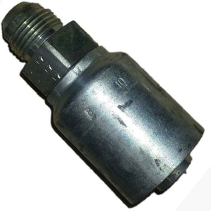 "Parker 10343-8-10 # 8 Male JIC 37 Degree x 5/8"" i.d. Hose Fitting freeshipping - Empire Lube Equipment"