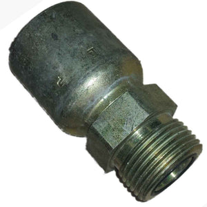 Parker 1J043-12-12 Adpt Male 3/4 Seal-Lok (w/O-Ring) X 3/4 Hose Steel freeshipping - Empire Lube Equipment