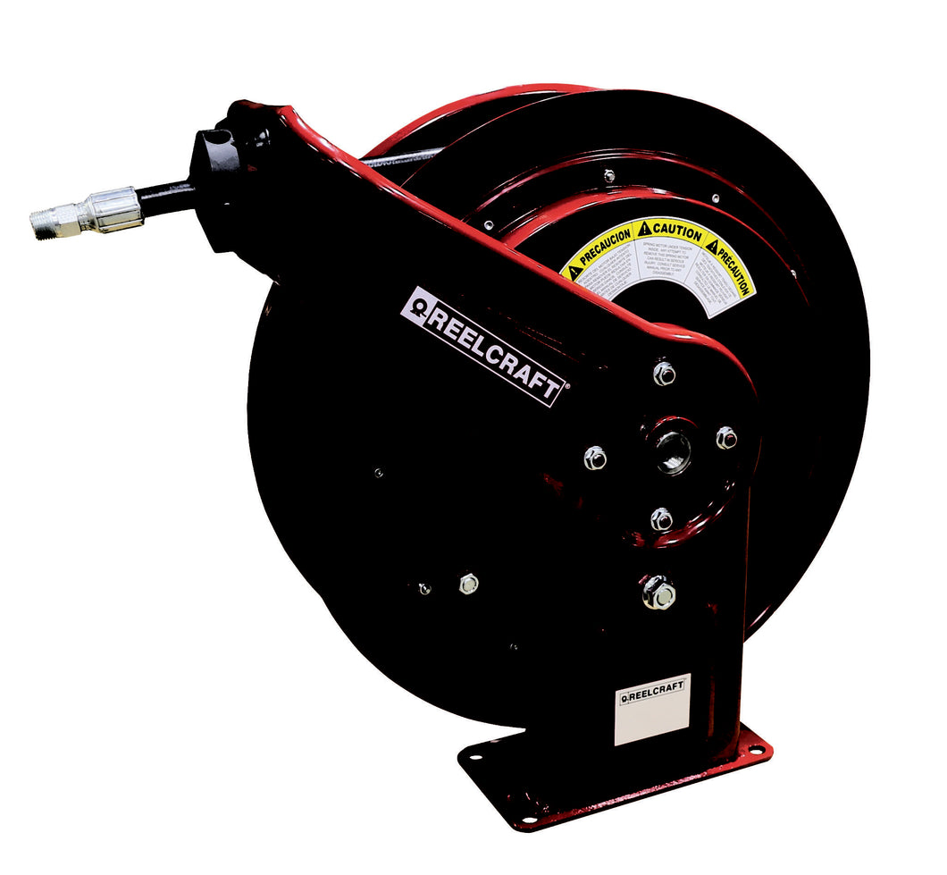 REELCRAFT HD76075 OMP 3/8 x 75ft, 2600 psi, Oil Hose Reel with Hose freeshipping - Empire Lube Equipment