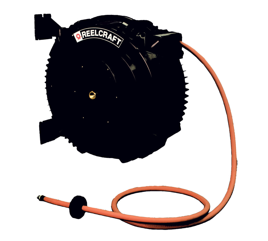 REELCRAFT SGA3665 OLP 3/8 x 65ft, 232 psi, Air / Water With Hose freeshipping - Empire Lube Equipment