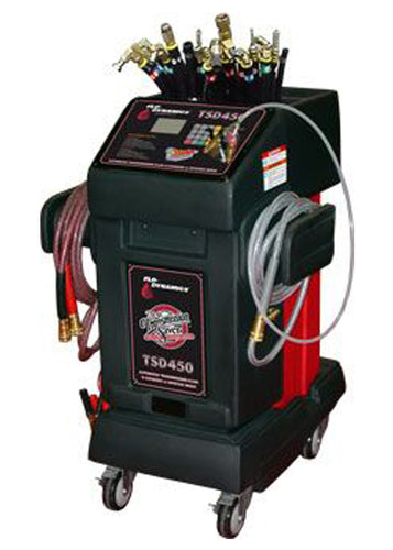 Flo Dynamics TSD450LCD Automatic menu driven ATF exchanger with Inline & Dipstick modes - Empire Lube Equipment