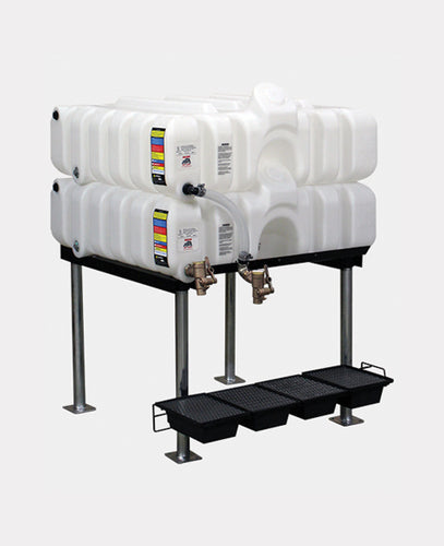Rhino Tuff Tanks RTT-6100-NV 45/45 GALLON GRAVITY FEED TANK PACKAGE
