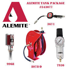 Alemite 343077 - Bulk Fluid Tank Package freeshipping - Empire Lube Equipment
