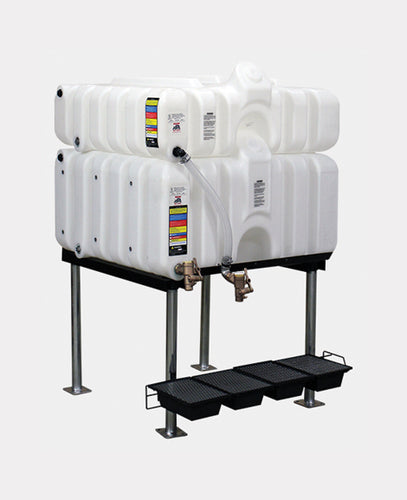 Rhino Tuff Tanks RTT-6130-NV 45/80 GALLON GRAVITY FEED TANK PACKAGE