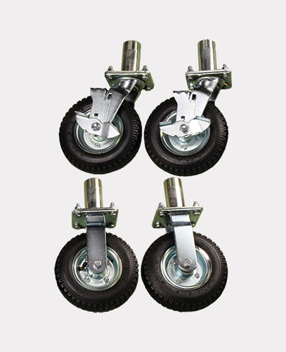 Rhino Tuff Tanks RTT-4745  8″ PNEUMATIC WHEEL KIT WITH ATTACHMENT LEGS
