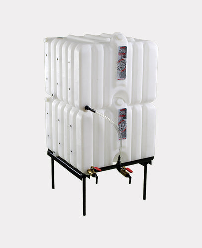 Rhino Tuff Tanks RTT-8224 MINI 4 Gallon tank RTT COMPLETE GRAVITY SYSTEM - Empire Lube Equipment