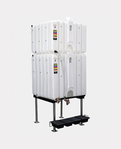 Rhino Tuff Tanks RTT-6280-NV 120/180 GALLON GRAVITY FEED TANK PACKAGE