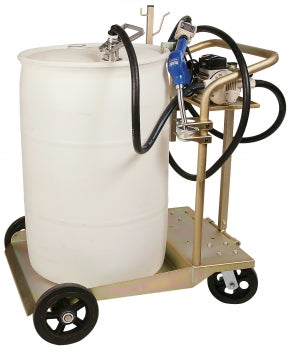 LiquiDynamics Automatic CLOSED 55 Gallon Drum Cart System | P/N 51009C-S9A