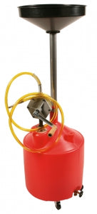 Liquidynamics 18 Gallon Oil Drain with Rotary Hand Pump | P/N 2400-27