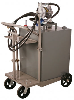 Liquidynamics 51009C-S17 95 Gallon Cart for Two Way Oil Transfer - Empire Lube Equipment
