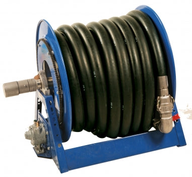 LiquiDynamics 195160B-100 100 ft. 12 VDC Motor Driven Hose Reel - Empire Lube Equipment