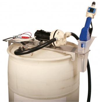 Liquidynamics Manual 12 VDC 55 Gallon Drum Topper System | P/N 33115-S2M - Empire Lube Equipment