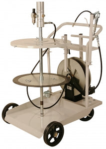 Liquidynamics 13070-S3 420 lb. Mobile Grease System w/ Cart & Reel