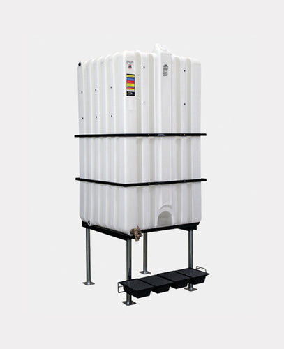 Rhino Tuff Tanks RTT-6500-NV 310 GALLON GRAVITY FEED TANK PACKAGE