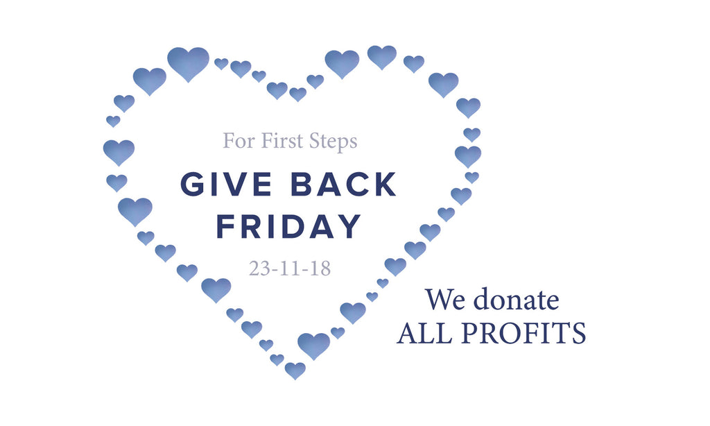 ANNOUNCEMENT: Give Back Friday