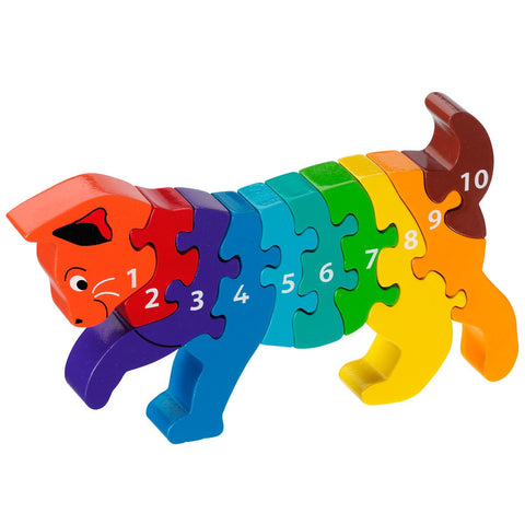1-10 Cat Jigsaw Puzzle