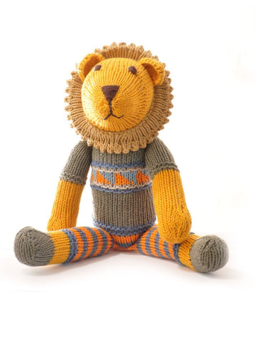 Lion in Stripey Trousers