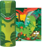 Dinosaur 64-Piece Puzzle & Coin Bank