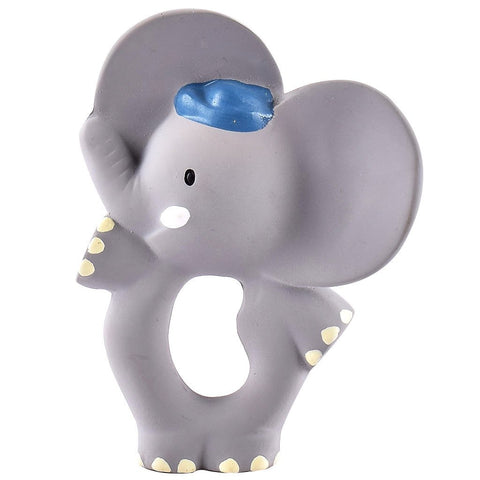 Alvin Elephant Natural Rubber Teething Toy