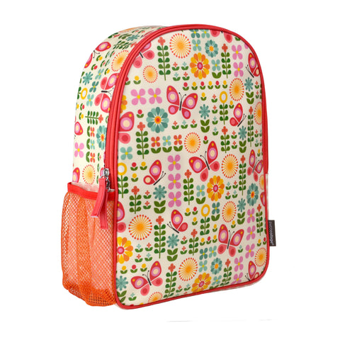Eco-Friendly Children's Backpack displaying Butterflies