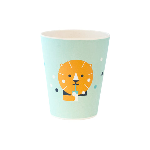 Bamboo Dinnerware Lion Cup by Makii