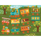 Count on the Train 24 Piece Puzzle