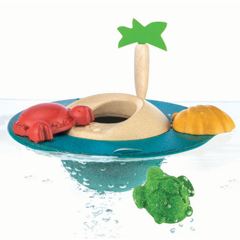 Floating Island Bath Toy