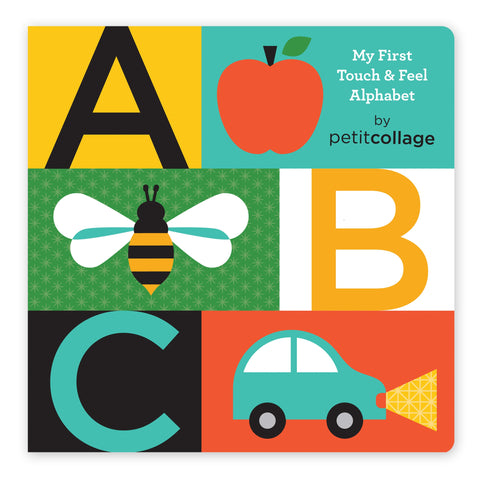 Touch & Feel Alphabet Board Book
