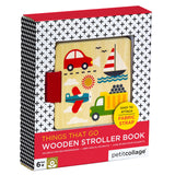 Things that Go Wooden Stroller Book
