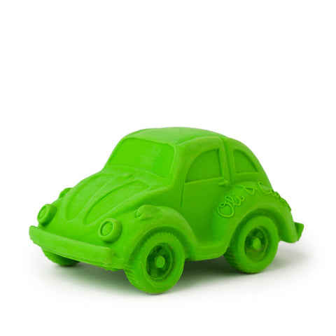 Small Beetle Car, Bath Toy Green