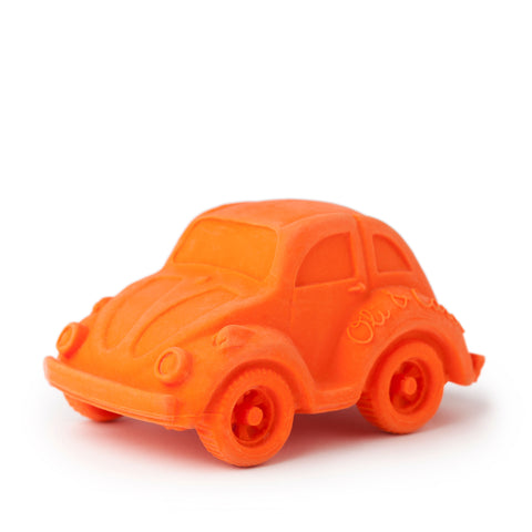Small Beetle Car, Bath Toy Orange