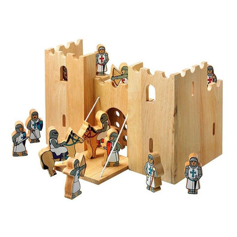 Castle Playscene & 12 Knights