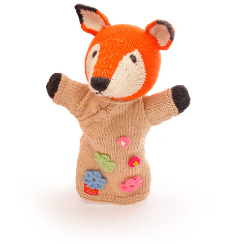 Organic Cotton Fox Hand Puppet by Petit Collage