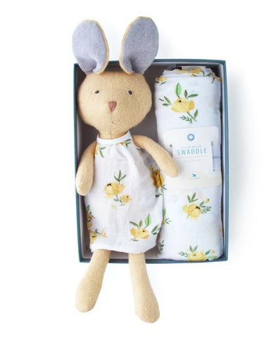 Gift Bundle Juliette Rabbit & Swaddle