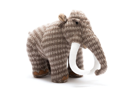 Large Knitted Mammoth
