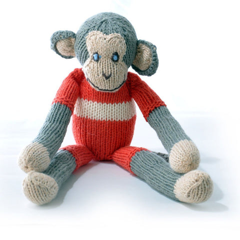 Monkey in Red Top