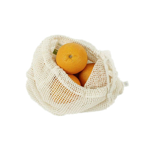 Cotton Mesh Produce Bag - Large