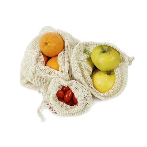 Mesh Produce Bag - Variety Set of 3